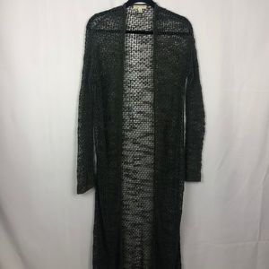 ANTHROPOLOGIE Staring at stars open knit  duster m